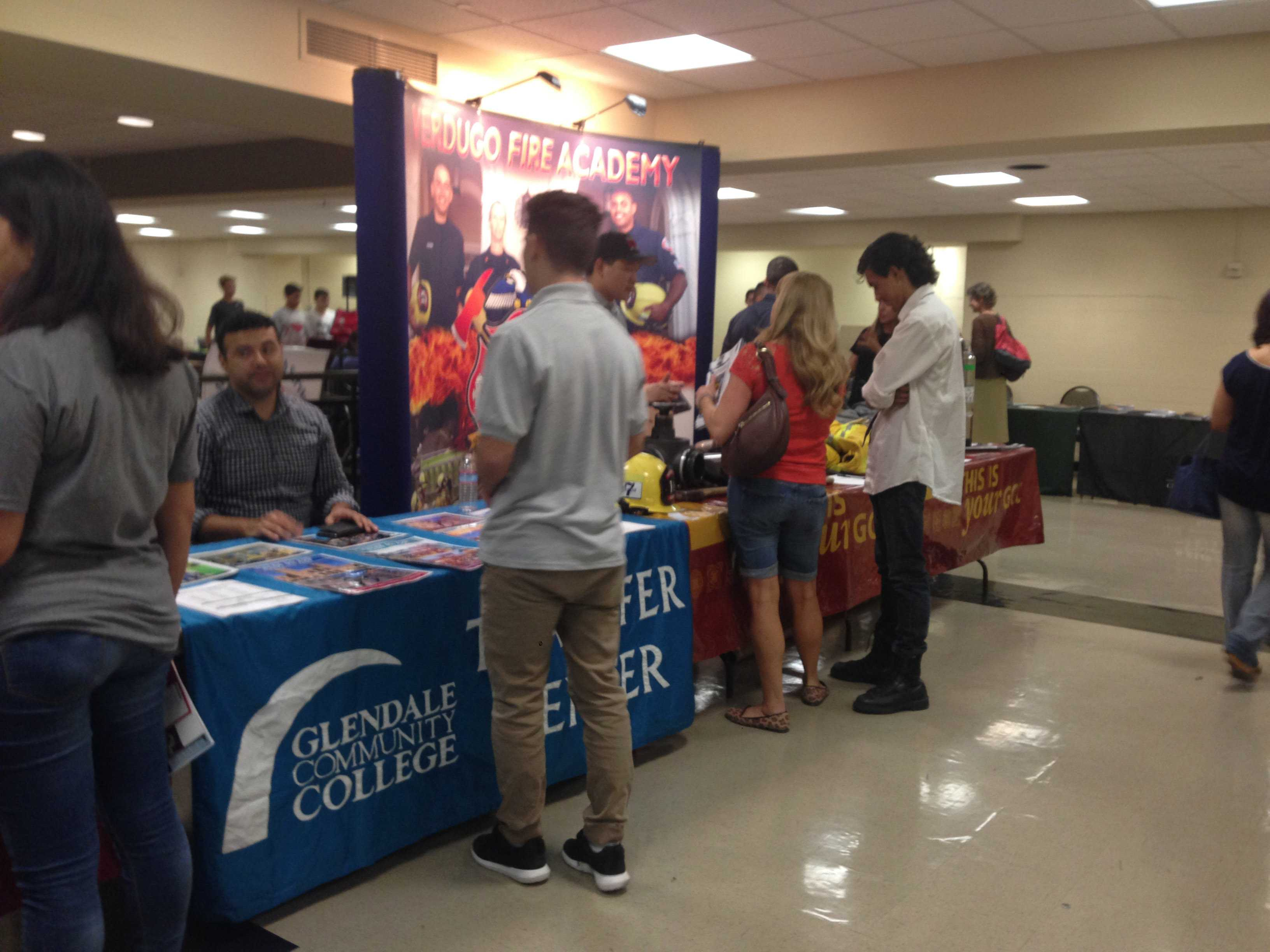 clark chronicle colleges and university reps answer questions at attending a college career fair is a great way to ask alumni questions about colleges and