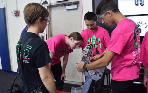 Robotics team rookies get time to shine