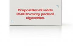 Proposition 56 takes a step towards a healthier California