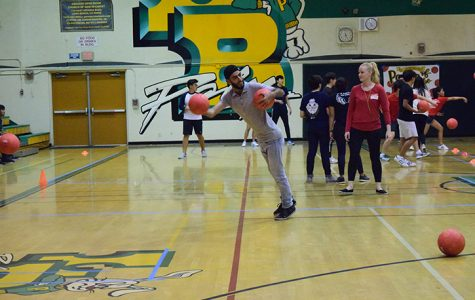 Red Cross hosts first annual dodgeball tournament