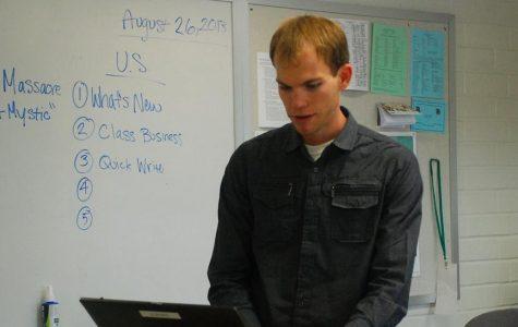 Mr. Kursinski, the new U.S. History teacher