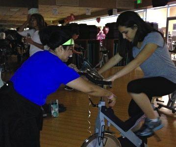 Taking unusual fitness classes