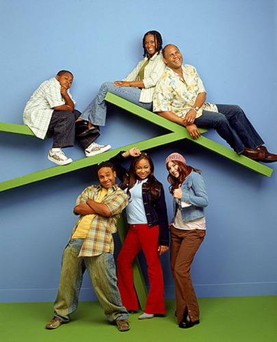 Cast of That's So Raven back in the 90's