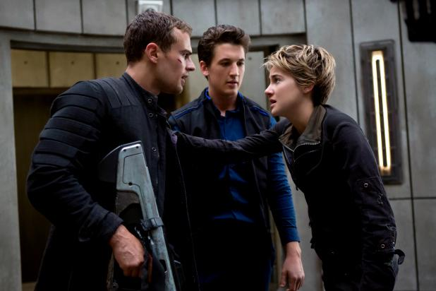 Shailene+Woodley+and+Theo+James+panic+over+potential+conflicts%2C+as+Miles+Teller%2C+sensibly%2C+couldn%27t+care+less.
