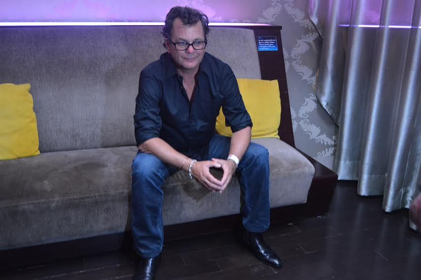 Kevin Lyman, founder of Warped Tour, after interviews with journalists.