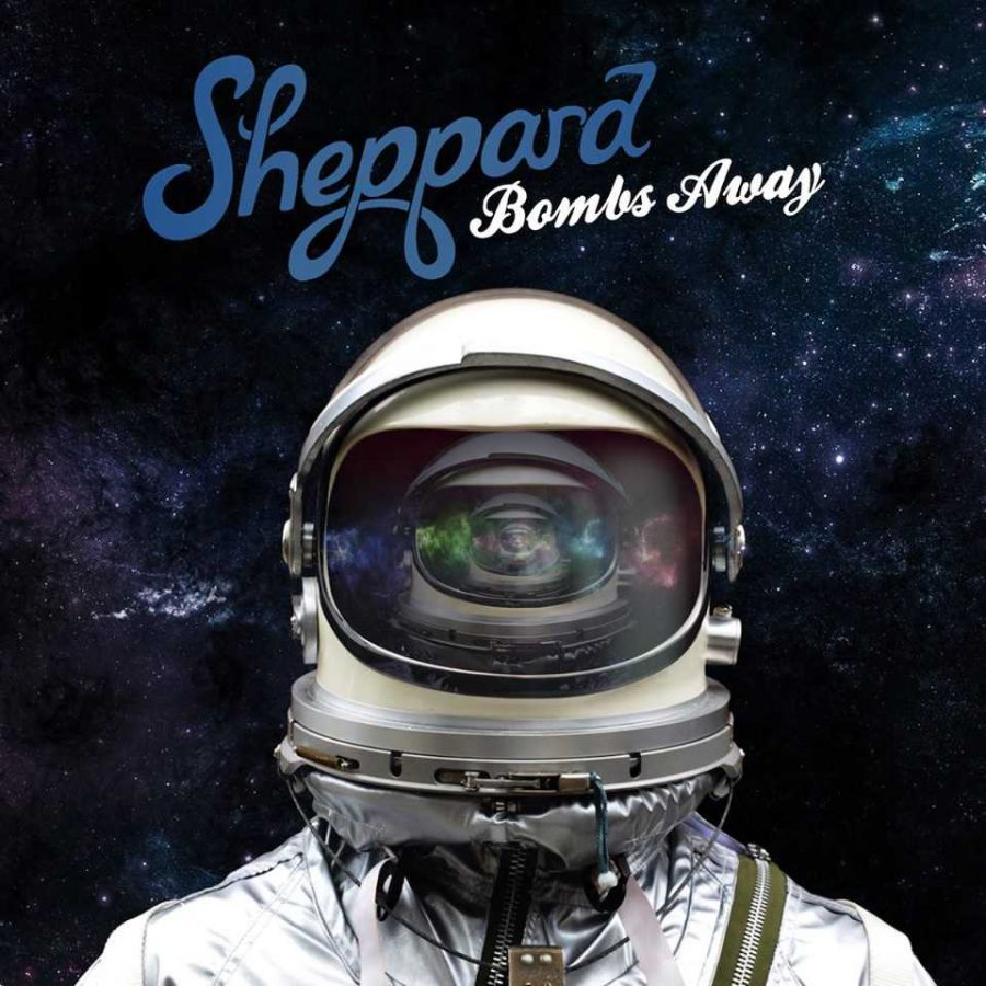 ThealbumcoverforBombsAwaybySheppard Sheppard crafts a collection of wonderful