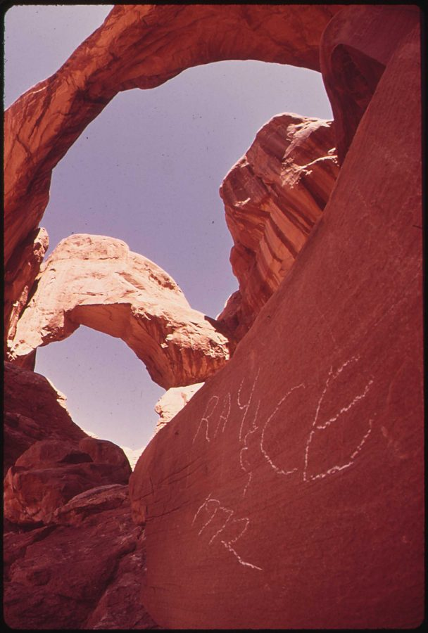 Graffitiartiststurntonationalparks2Csuch Vandalism in the streets moves to
