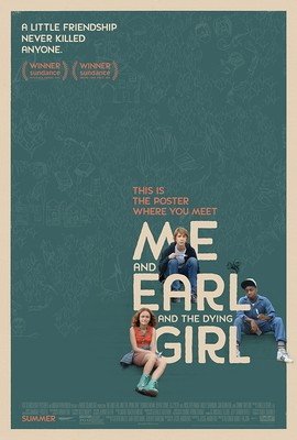 Poster for Fox Searchlight's Me and Earl and the Dying Girl.