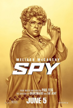 Poster for 20th Century Fox's Spy.