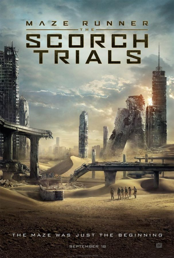 Poster+for+20th+Century+Fox%27s+Maze+Runner%3A+The+Scorch+Trials.%0A