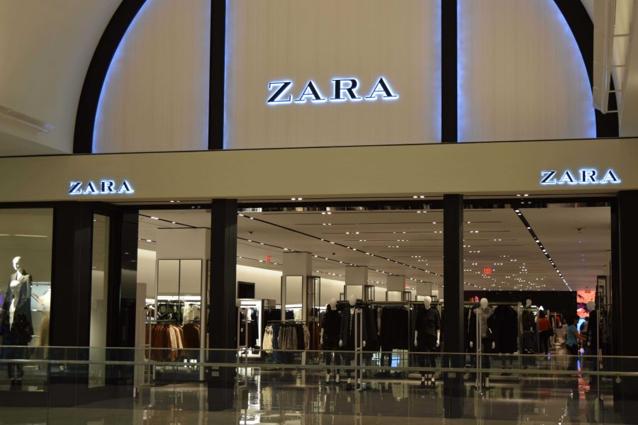 The new Zara store which opened recently in the Glendale Galleria.