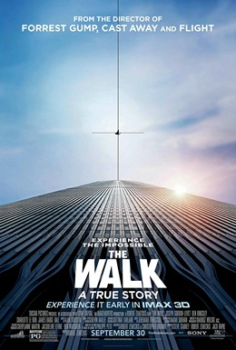 Official movie poster for 'The Walk' starring Joseph Gordon-Levitt.