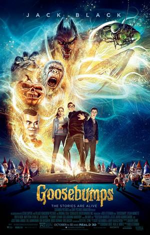 Colombia Pictures' remake of the classic 'Goosebumps' scheduled for release on Oct. 16.