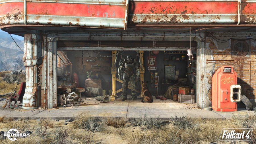 A Fallout 4 wallpaper.