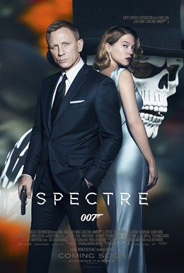 Promotional poster for Spectre