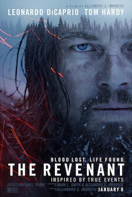 Poster for this season's Oscar front-runner, The Revenant.