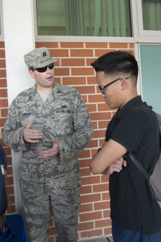 Prospective military trainees have to meet certain requirements in order to enlist.