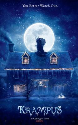 A promotional poster for Krampus.
