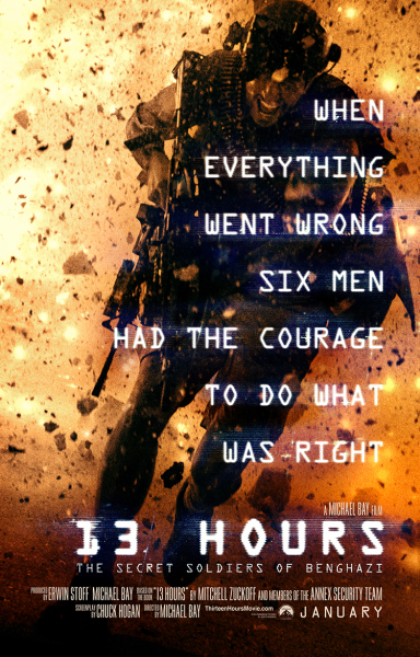 Michael Bay's '13 Hours' starring John Krasinski is nothing but a typical Michael Bay film.