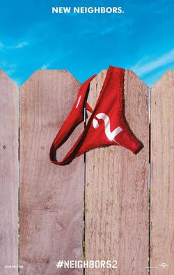Neighbors 2: Sorority Rising promotional poster.