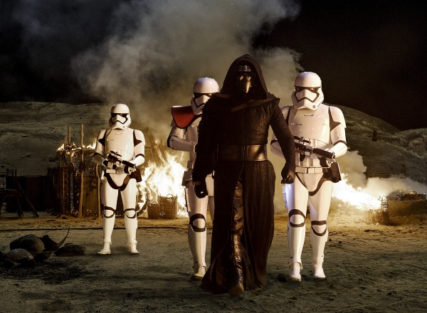 Promo photo for 'Star Wars: The Force Awakens'