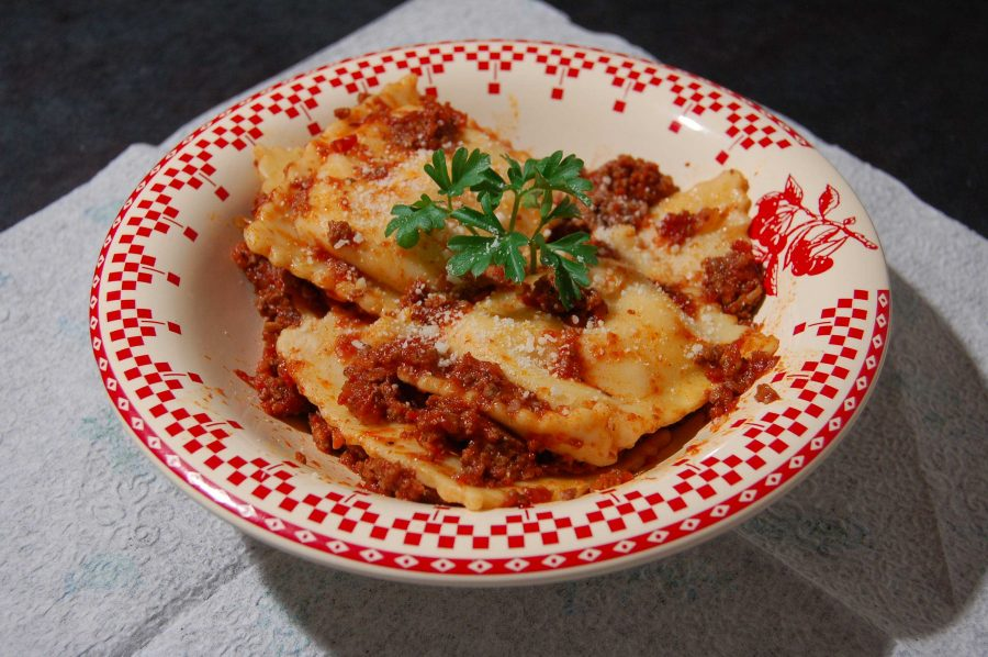 Ravioli, one of Mario's most famous pastas. Italian cannot get better than this.