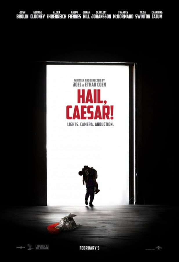 The official poster for 'Hail, Caesar!'the Coen brothers' latest masterpiece.