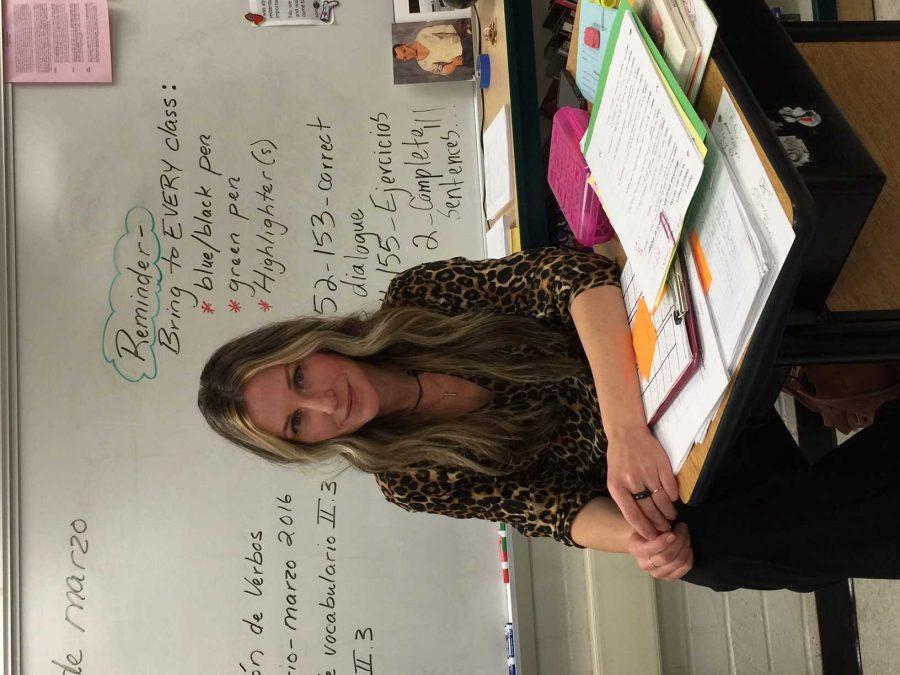 Mrs. Hilmar-braga when she came back to Clark.