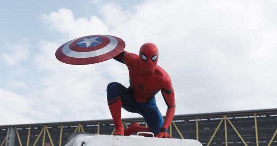 Spider-Man's first appearance in the Marvel Cinematic Universe.