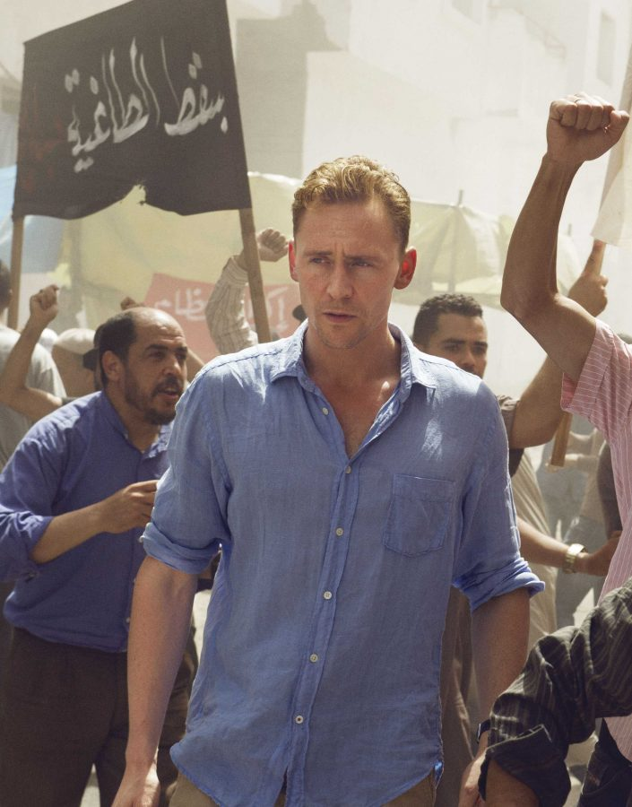 Tom Hiddleston is the hotel night manager who leads the suspenseful premiere of 'The Night Manager' on AMC.