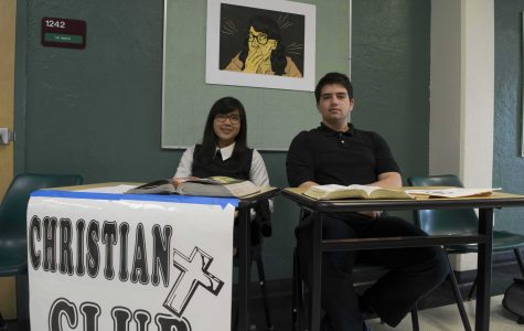 Christian Club at the annual expo