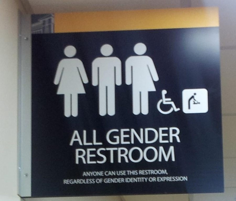 Transgender bathrooms only harm society clark chronicle atransgenderbathroomsign sciox Image collections