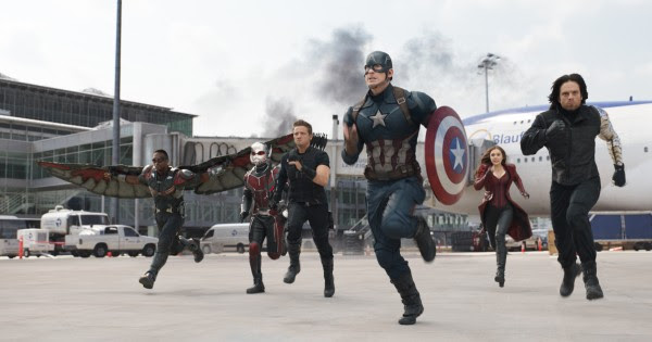 Team Cap runs into action.