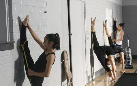 Local rhythmic gymnasts find the sport challenging, yet rewarding