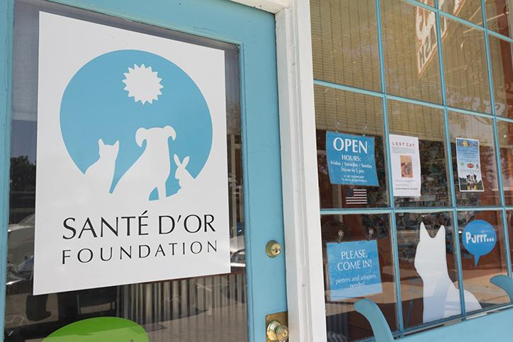 Located in Atwater Village, Sante D' Or is open to anyone looking to adopt animals