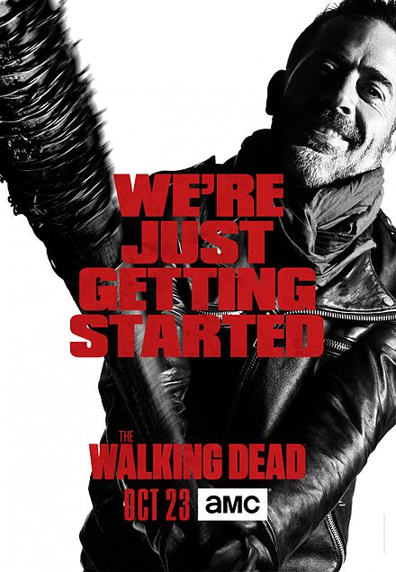 The+promotional+poster+for+season+7+of+The+Walking+Dead.+