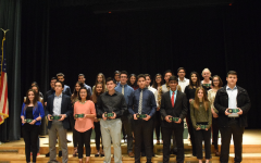 Seniors are awarded for their four years of academic effort