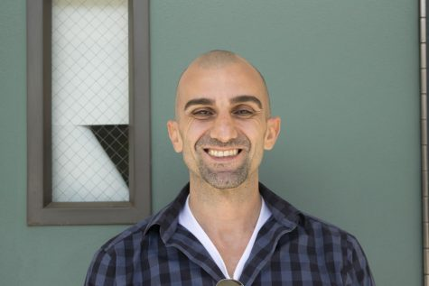 Narbeh Der-Gevorkian becomes one of the new teachers at Clark.