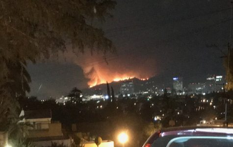 La Tuna Fire rages in Burbank