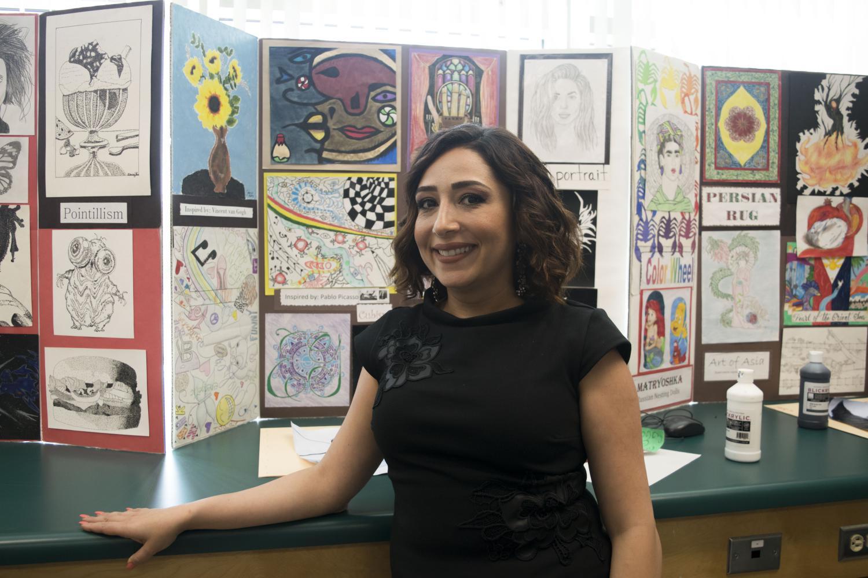 Yeran Paronikyan enjoys art and the art behind design.