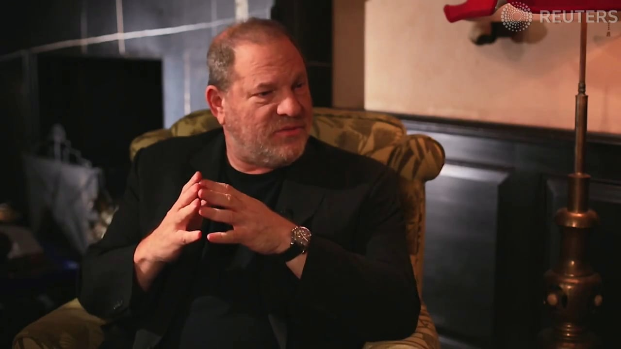 The disgraced Harvey Weinstein