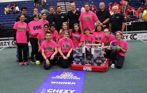 Team 696 continues their winning streak
