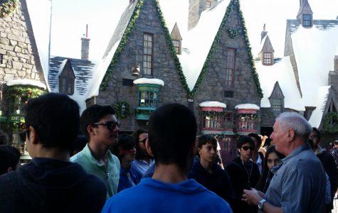Cinema students take a VIP tour of Universal Studios