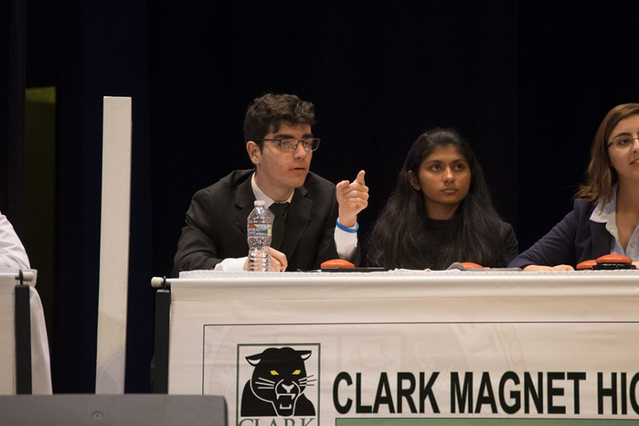 Clark's students quickly answer back.