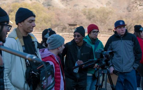 Cinematography classes partake in a real-world movie production
