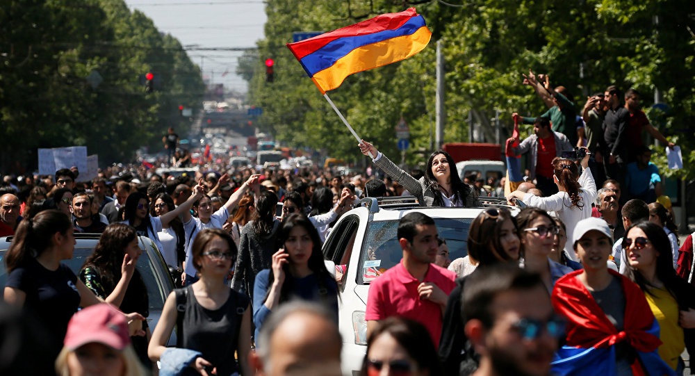 Armenians in Yerevan rally against corruption