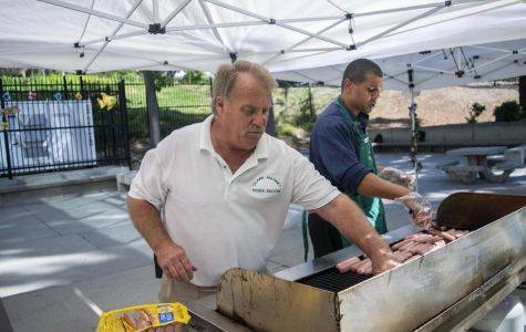 Traditions continue on as Clark's senior barbecue and twentieth anniversary coincide to start off the school year