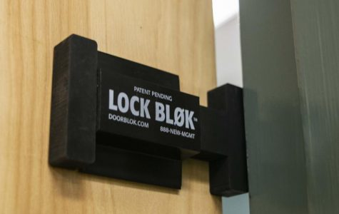New locks on doors secure advance safety at Clark