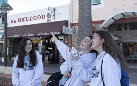 Seniors travel to Catalina Island for a break from studying