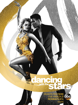 The promotional poster for the twenty second season of 'Dancing with the Stars